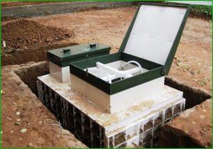 автономное канализационный септик