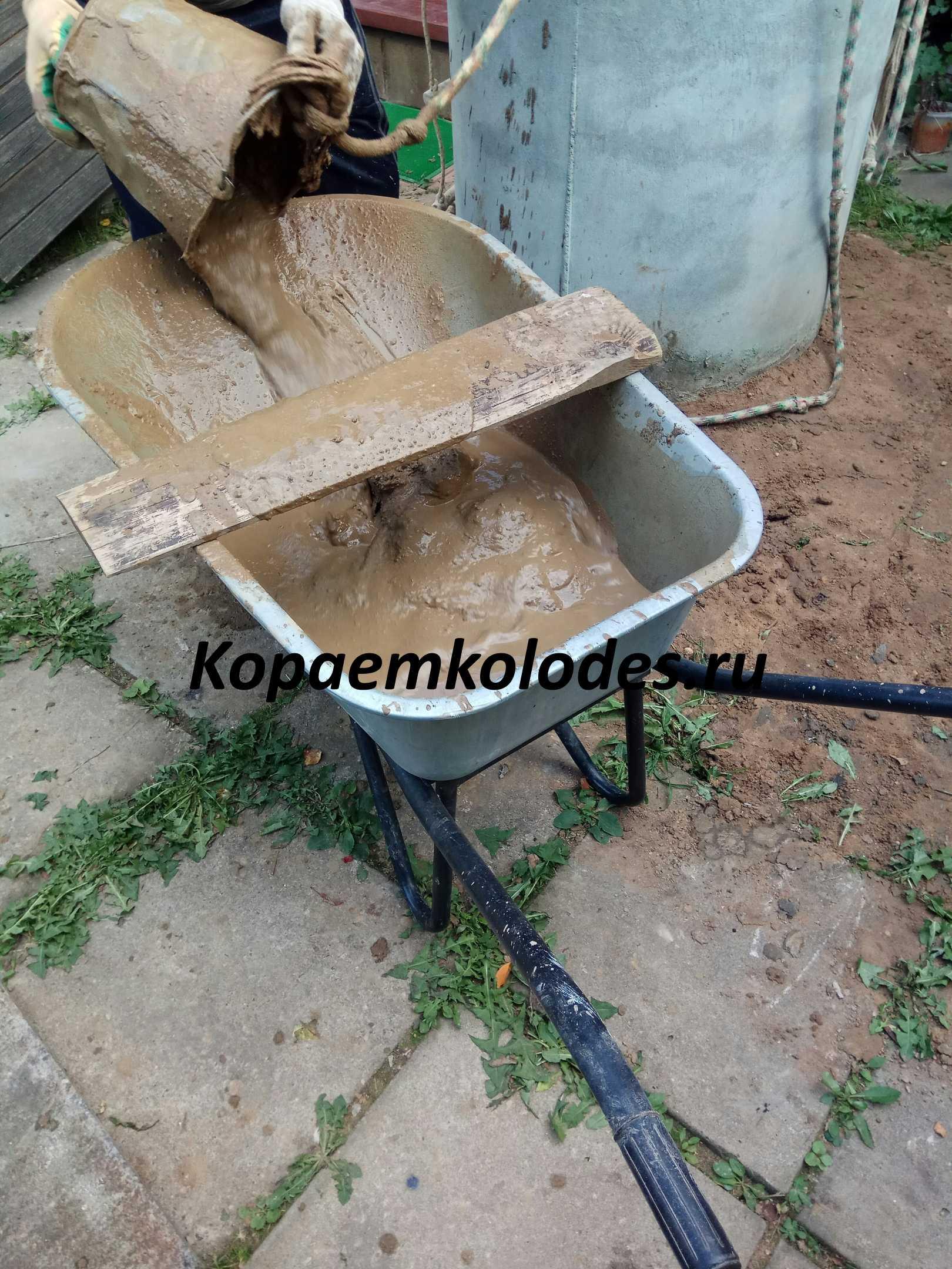 очистка колодцев в Люберецком районе и Люберцах