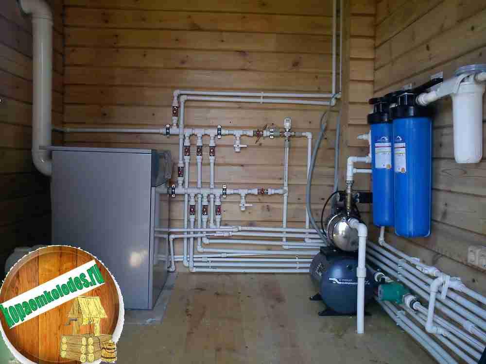 Стоимость водоснабжения частного дома под ключ в Лотошинском районе и Лотошино