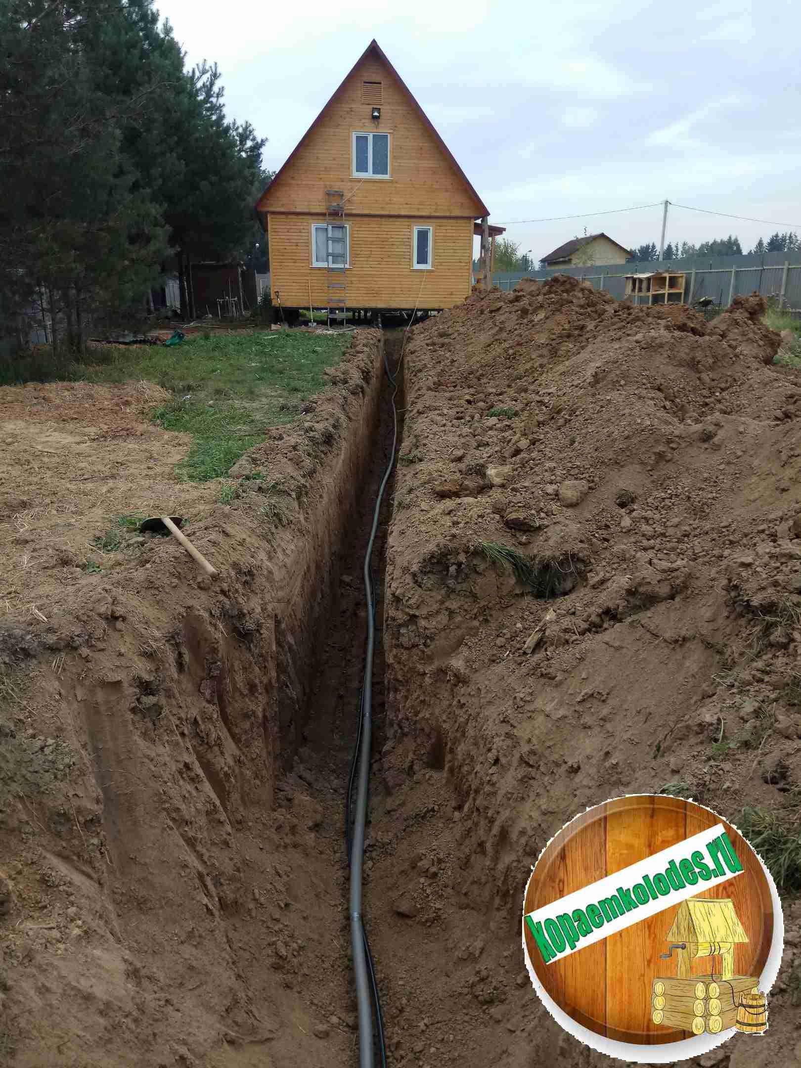 проведения водоснабжения в частный дом в Лотошинском районе и Лотошино