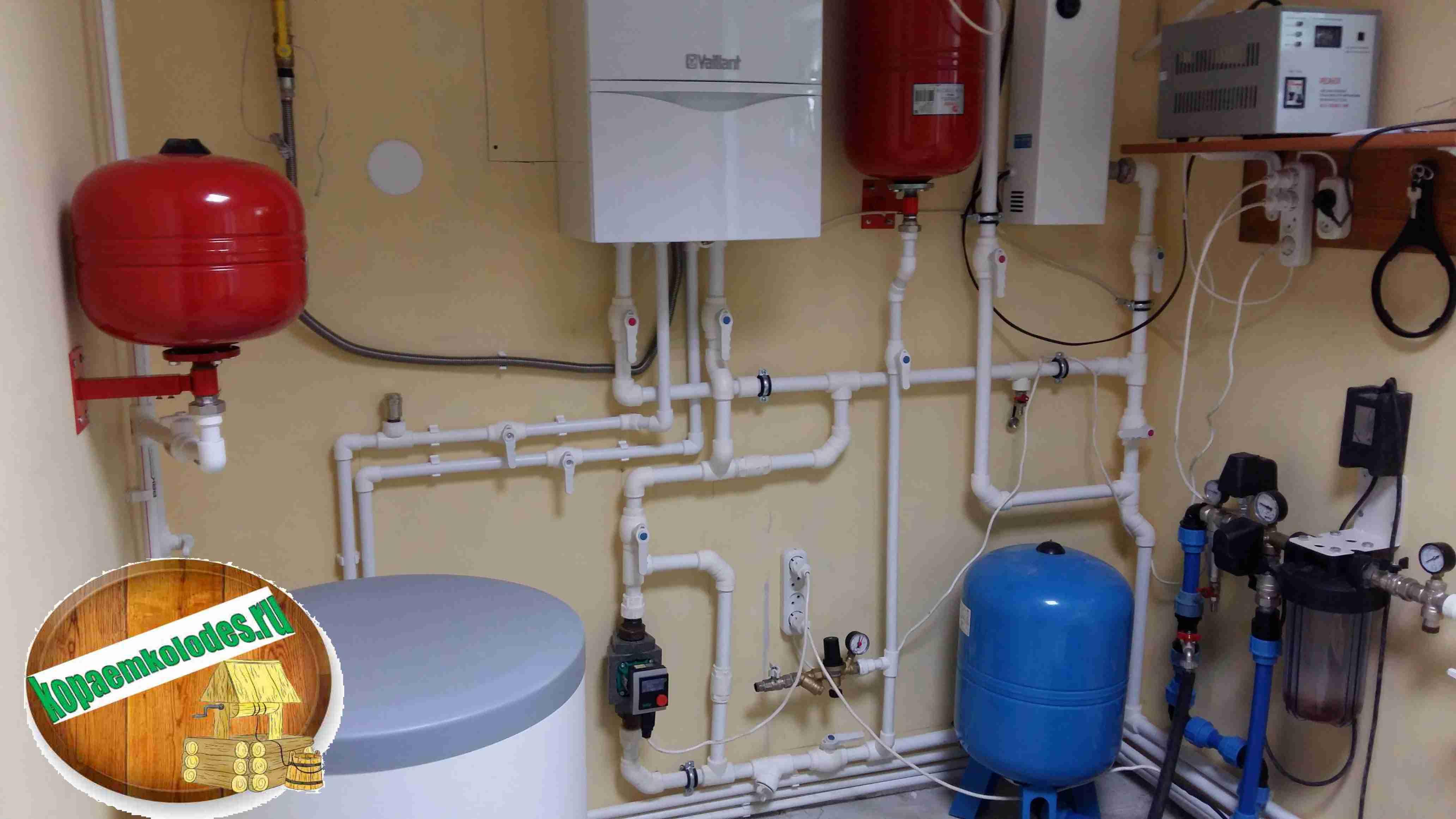 Заказать водоснабжение частного дома под ключ в Алексеевском районе и Алексеевке