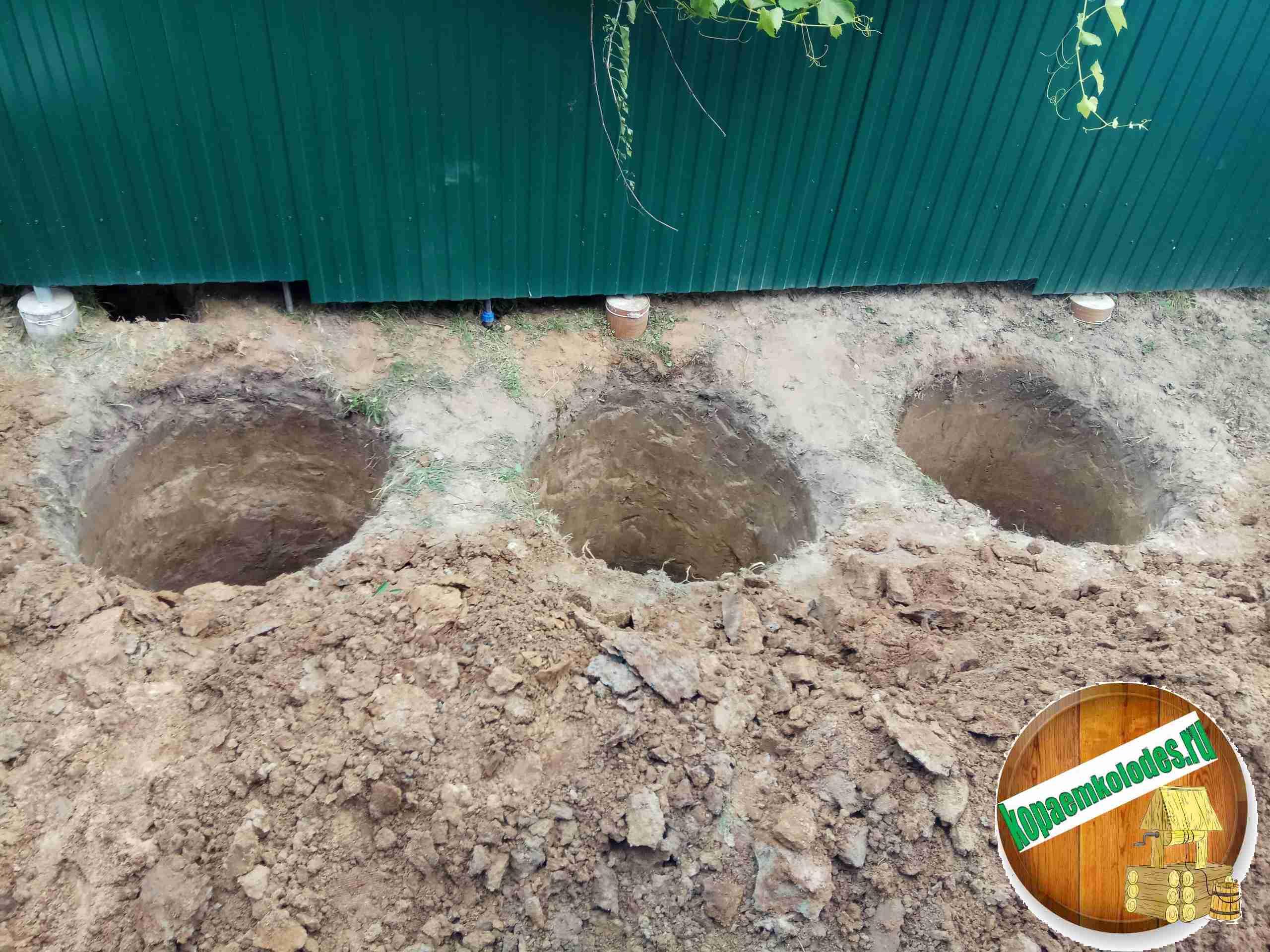 Септик из бетонных колец в Рязанской области и Рязани